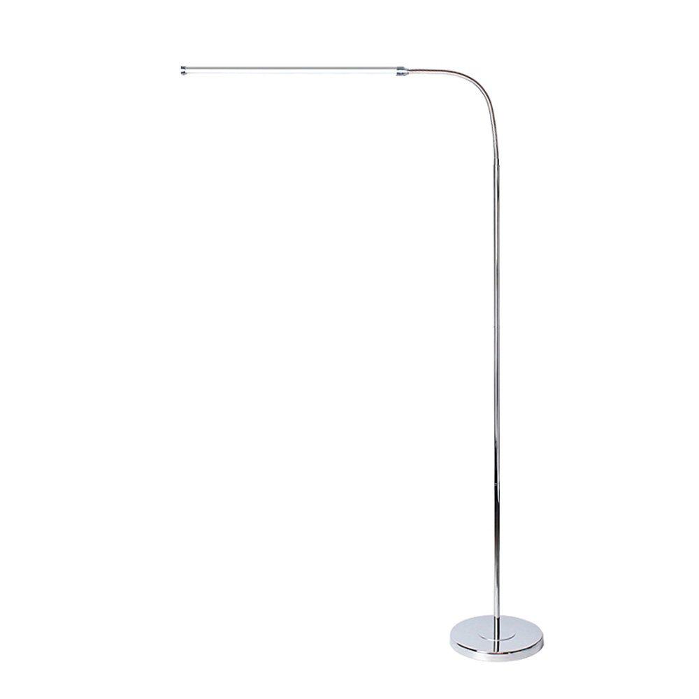 アイプロテクションLEDフロアランプ、モダンなミニマリストのアイアンリーディング照明垂直スタンディングランプ北欧アルミ湾曲スーパーブライトリビングルームの寝室のフロアテーブルライト (Color : White light, Size : 12W) B07SMNZYRM White light 12W