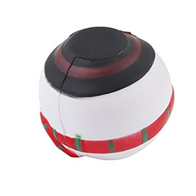 KELER Soft Santa Claus Christmas Gift Ball Decoration: Office Products