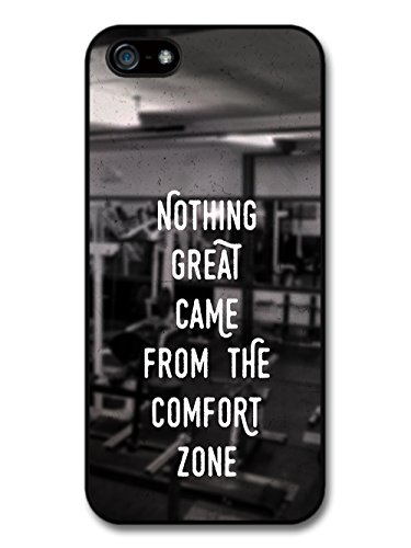 Gym Motivational Quote on Black and White Stylish Fashion coque pour iPhone 5 5S