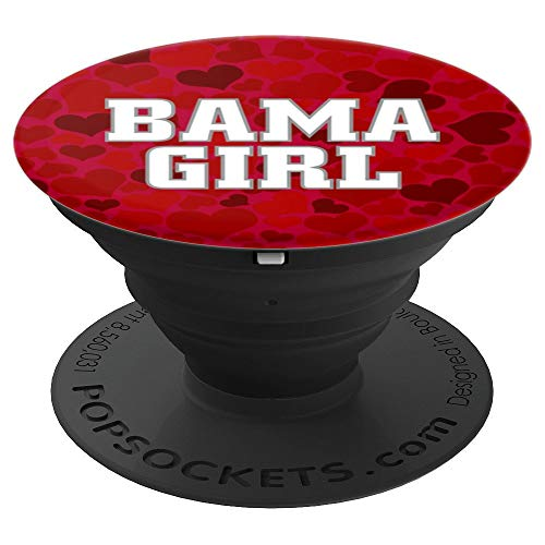 Bama Girl Proud Alabama Girls - PopSockets Grip and Stand for Phones and Tablets