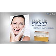 AUTHENTIC NLIGHTEN KOJIC PAPAYA BAR SOAP WITH GLUTATHIONE 135g. by NWORLD NLIGHTEN KOJIC PAPAYA