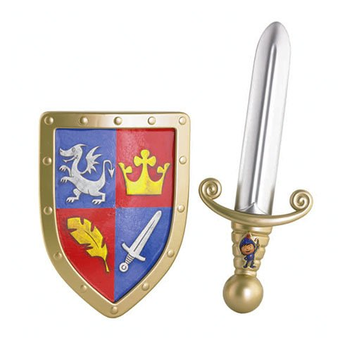 Fisher-Price Mike The Knight Sword and Shield -