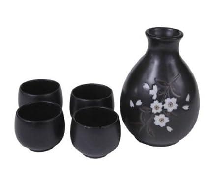 Amazon.com | Carafe variation (with ice pocket ) cold sake Carafe ...