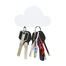 Key Rack,HOTOR Magnetic Key Holder-Cloud Shape