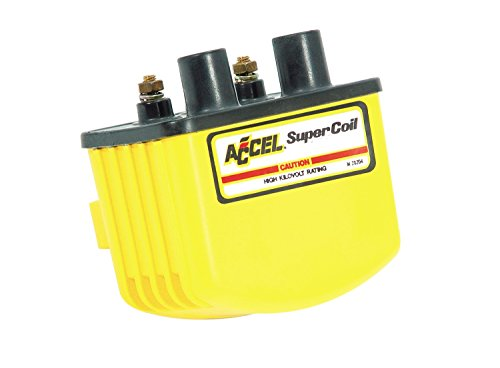 (ACCEL ACC 140408 Single Fire Yellow Super Coil)