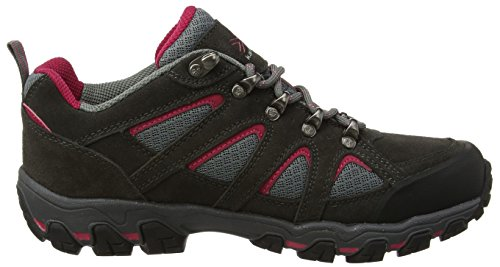 Karrimor Bodmin 5 Ladies Weathertite Uk 7h, Zapatos de Low Rise Senderismo para Mujer Gris (Dark Grey)