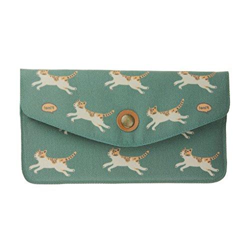 Womens Canvas Simplicity Envelope Handbag