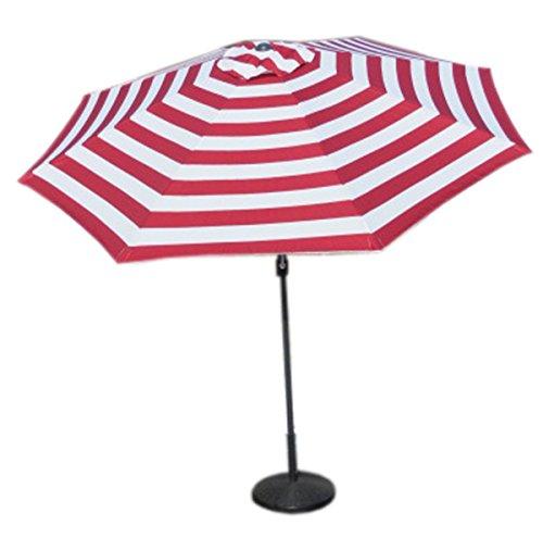 VMI Striped Umbrella, Large, Red For Sale