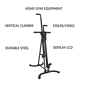 Mophorn Vertical Climber Fitness Climbing Machine Stepper Equipment for Home Gym Exercise