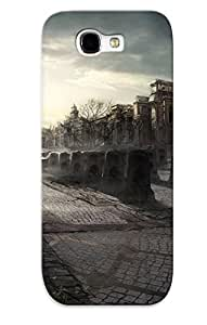 AmLpnts5110mcLln Cemetery In The Middle Of The City Protective Case Cover Skin/galaxy Note 2 Case Cover Appearance