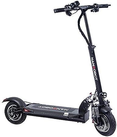 Amazon.com: NANROBOT D5+ 2.0 Scooter eléctrico plegable y ...
