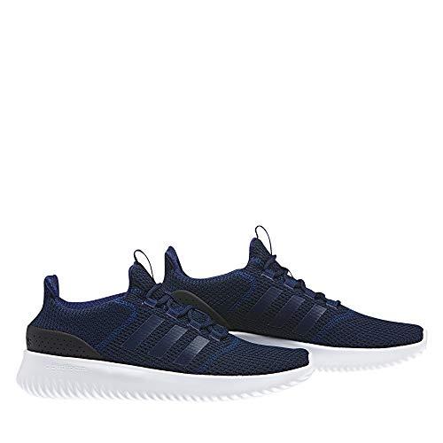 adidas B43842 Herren Cloudfoam Ultimate Sneaker Monochrom-Look kräftiges Mesh Blau