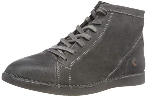 Washed Femme Softinos Bottines Leather Toz474sof 001 Gris Militar P7HFq1xwH