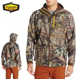 Yukon Gear Men's Waylay Softshell Hunting Jacket, Mossy Oak Break-Up Country, X-Large