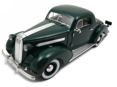 Buy 1936 Pontiac Deluxe Green 1 18 Diecast Model Car Online At Low