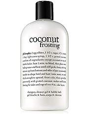Philosophy Coconut Frosting Shampoo, Shower Gel and Bubble Bath, 480ml