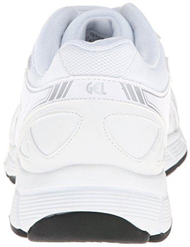 Asics Mens GEL-Quickwalk 2 SL Walking Shoe White/Silver piWJG0CgDZ