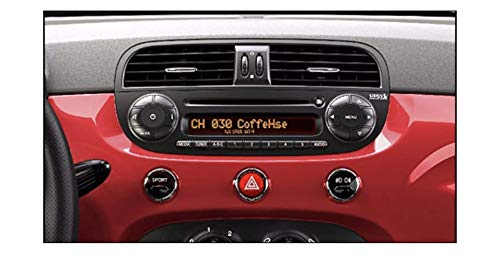 Decal USA Fiat 500 Radio Stereo Repair Decals Peeling Worn FLAKING Buttons 100% Guaranteed (Best Fiat 500 Accessories)
