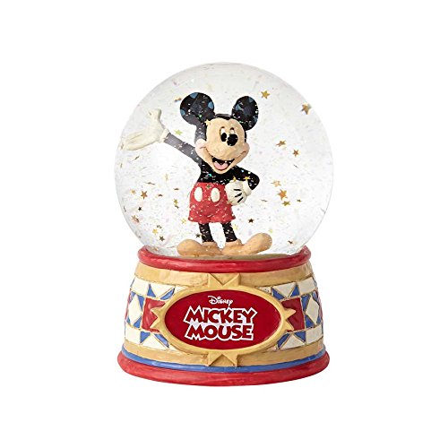 - Disney Traditions Mickey Mouse 5 1/2-Inch Water Globe