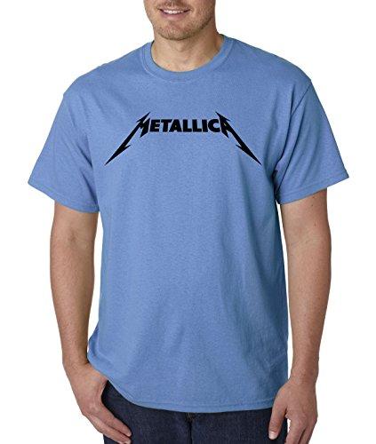 New Way 778 - Unisex T-Shirt Metallica Beavis Butt-Head Parody Logo Medium Carolina -