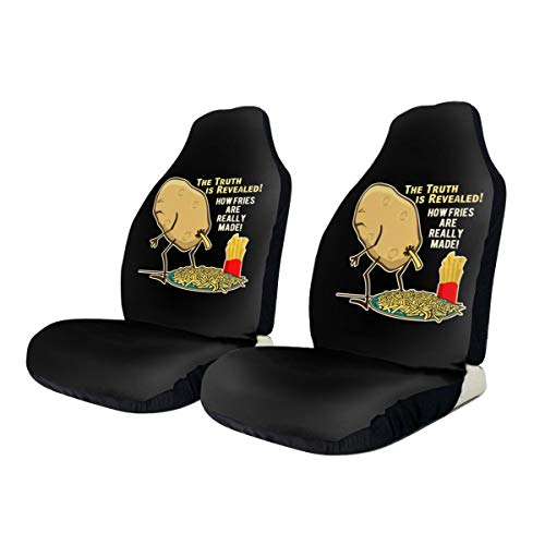 Car Seat Covers The Truth Is Revealed Elastic Saddle Blanket With Seat Universal Car Seat Accessories,2 PCS