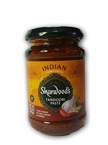 Sharwood's Tandoori Paste 10 oz each (1 Item Per Order, not per case)