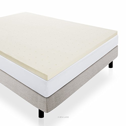2-Inch Ventilated Memory Foam Mattress Topper, RV/Short Queen made our list of camping gifts couples will love and great gifts for couples who camp