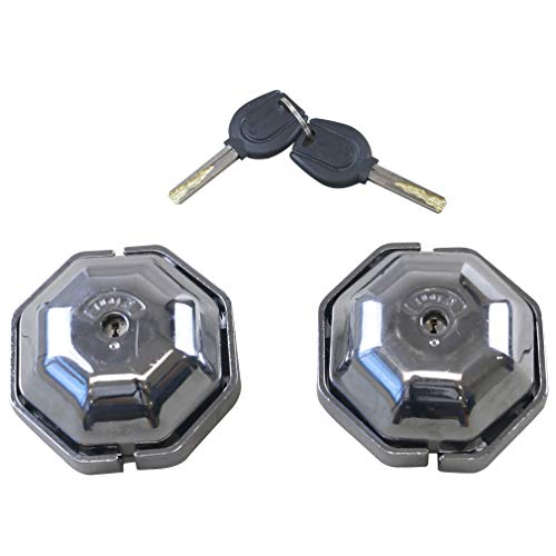 Oklead Cargo Van Door Lock Heavy Duty Van Garage Shed Door Exterior Security Safety Device for Side and Rear Doors 2 pcs a Pair