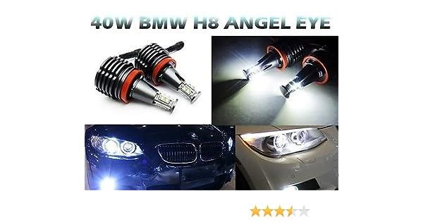 2x White LED Daytime Tube Day Fog Light DRL Run lamp For BMW X6 E71 2009-2012