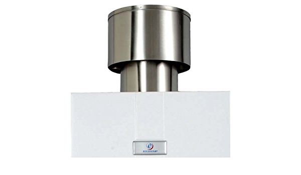 Regenkappe ECCFLUL10 für Eccotemp CE-10 Ø110mm Edelstahl