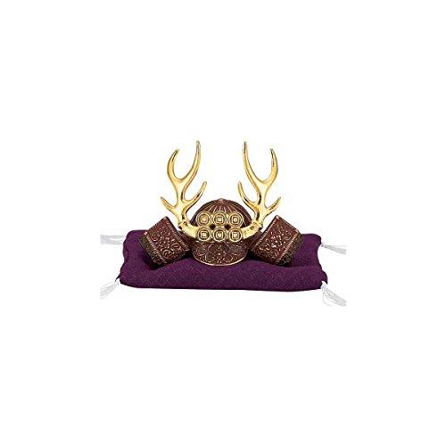 Japanese Samurai Kabuto helmet - Sanada Yukimura - with cushion, box - Japan import [Standard ship by EMS with Tracking number & Insurance]