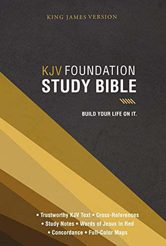 KJV, Foundation Study Bible, Hardcover ebook