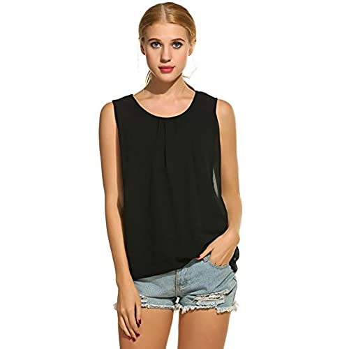 Affordable Sleeveless Top - Thinking 412 by VIDA VIDA Discount Authentic Free Shipping Great Deals Bfe1X