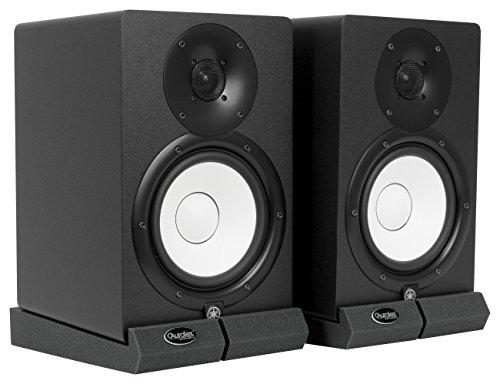 Auralex Acoustics MOPAD MOPAD Monitor Acoustic Isolation Pads (1 Pair), Charcoal by Auralex Acoustics (Image #1)