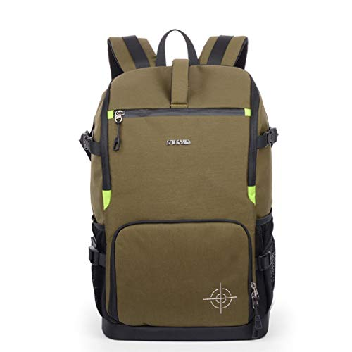 (Full-Size DSLR Camera Backpack Case for Photography & Laptop with 15.6