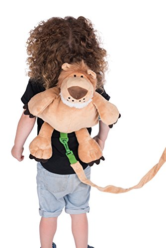 Animal Planet Baby Backpack with Safety Harness, Lion