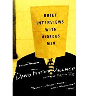 [ Brief Interviews with Hideous Men By Wallace, David Foster (Author)  Paperback 2000