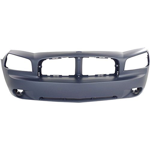 2006 Front Bumper Cover (New Evan-Fischer EVA17872021697 Front BUMPER COVER Primed for 2006-2010 Dodge Charger)