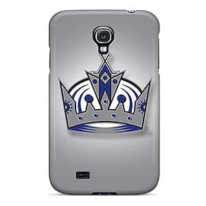 AlainTanielian Samsung Galaxy S4 Durable Hard Cell-phone Cases Customized High-definition Los Angeles Kings Pattern [YvA1838XkBP]