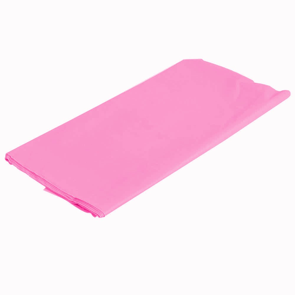 Black Mountclear 12-Pack Disposable Plastic Tablecloths 54 x 108 Rectangle Table Cover