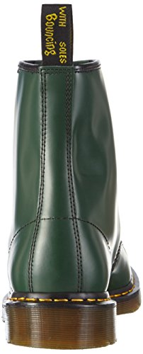 1460 Last Unisex Adulto Martens Smooth Dr Smooth Green Verde Stivali 1460 59 vwq5W4WI