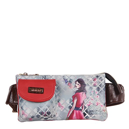 nicole-lee-fanny-pack-red-one-size