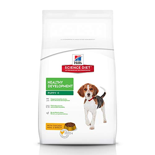 Hill'S Science Diet Dry Dog Food, Puppy, Healthy Development, Chicken Meal & Barley Recipe, 30 lb Bag