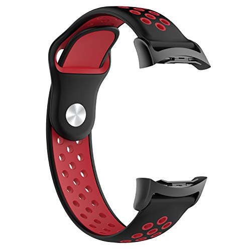YJYDADA Silicone Sports Watch Band for Samsung Gear S2 SM-R720 / SM-R730 with Adapter (E)