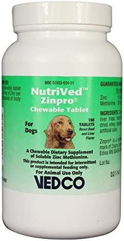 NutriVed ZinPro Chewable Tablets count product image