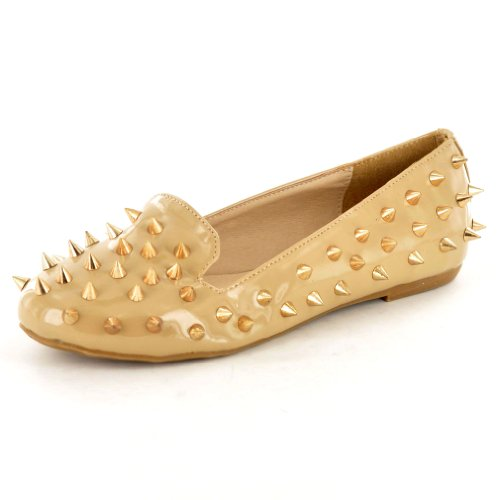 My Perfect Pair , Damen Mokassins Beige hautfarben