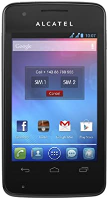 Alcatel One Touch SPop - Smartphone (88.9 mm (3.5