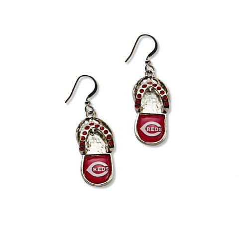 Cincinnati Reds Mlb Crystal (MLB Cincinnati Reds Flip Flop Crystal)