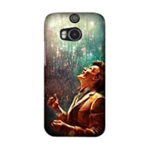 TV Show Doctor Who TPU Material Phone Case For HTC One M8 Cover