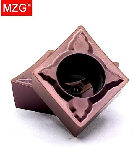 Txrh Drehbank CCMT060204 CCMT09T308 CCMT09T304 MSF Bohren Drehen CNC-Edelstahl-Schneidwerkzeuge Hartmetall-Einsätze (Insert Width(mm) : CCMT09T308MSF ZP1521)